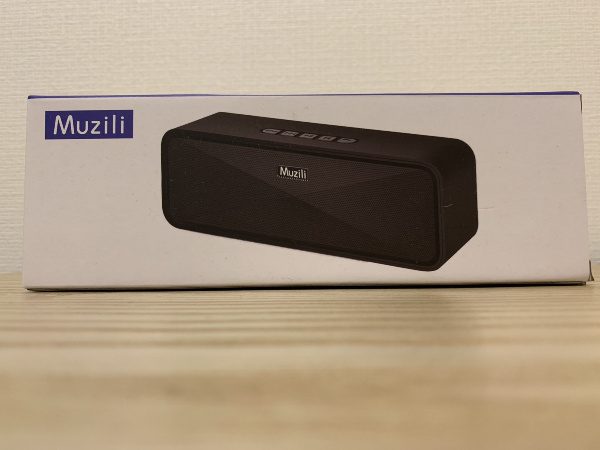 MuziliのBluetoothスピーカー